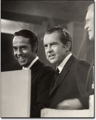 Bob Dole, Richard Nixon and Gerald Ford